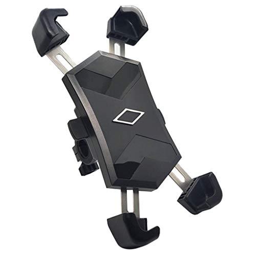QAZWSXD Soporte Universal para Teléfono De Bicicleta Deportivo Gadget Universal para Teléfono De Bicicleta Soporte Giratorio De 360 ° con Bloqueo Automático