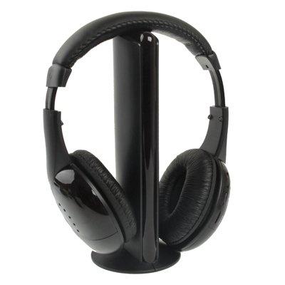 Find Discount Todayday Headset Hi-Fi 5 in 1 Wireless Headphone,Input: Computer,TV,VCD,CD,HI-FI,etc. ...