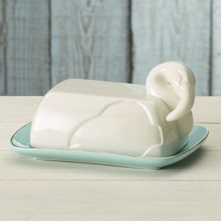 msc butter dishes Flamingo Butter Dish by IHI