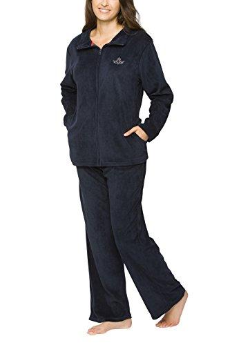 SLOUCHER Nicki-Anzug für Damen, Farbe:Navy, Größe:S