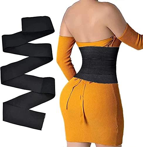 YZHY Snatch Me Up Bandage Wrap for Women, Wrapped Lumbar Support Belt, Bequeme und verstellbare Schultergurte für den Rücken , Invisible Wrap Waist Trainer Tape (4M)
