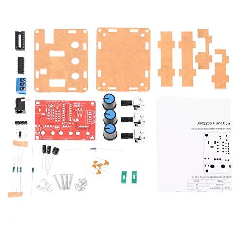 Highbeastbe Kit de Bricolaje para Generador de Señal, Salida de Alta Precisión 1Hz-1Mhz Seno/Triángulo/Cuadrado Profesional Premium Generador de Señal Duradero - Cargador De La UE