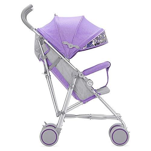 Poussettes Chariot de Portage de Chariot Pliable de Buggy portatif Ultra-léger d'alliage d'aluminium de Chariot à bébé