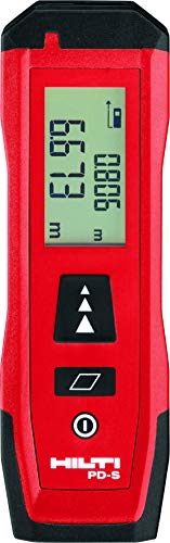 Hilti PD S Laser Range Finder Distance Meter 0.02 to 60m Hand Operated...