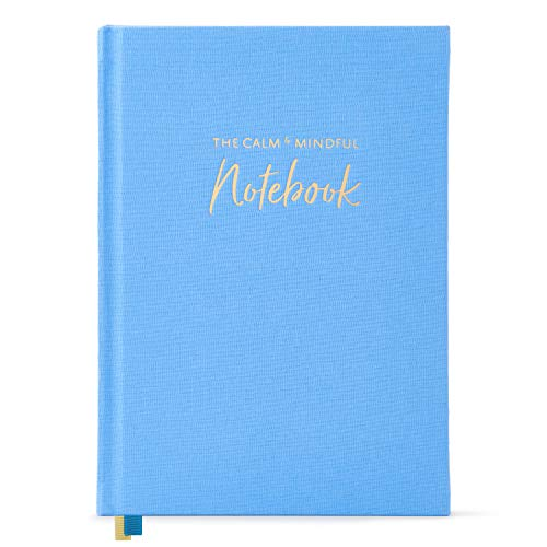 The Calm & Mindful Notebook – Guided Self Care Journal with Writing Prompts – A5 Gratitude Journal to Promote Mindfulness, Self Kindness, Meditation, and Stress Relief