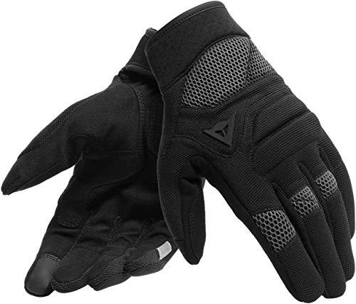 Dainese Unisex Erwachsene Fogal Unisex Gloves Motorrad Handschuhe, Schwarz, XXL EU