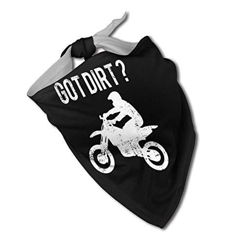 XZ-Sky Got Dirt Bike Hund Bandana Halsbänder Dreieck Halstuch Lätzchen Schal Zubehör Pet Cats