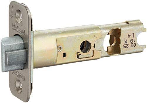 Kwikset 82247-15A Adjustable Radius Deadlatch Antique Nickel Finish