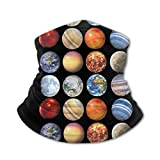Kids Sibling Solar System Planets Space Science Astronomy Bandanas Face...
