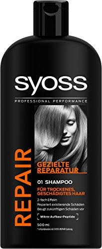 Syoss Repair Gezielte Reperatur Shampoo, 6er Pack (6 x 500 ml)