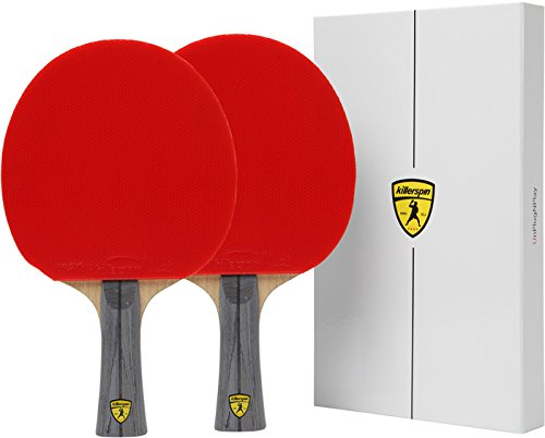 Buy Bargain Killerspin JET600 Table Tennis Paddles - Double Pck of Ping Pong Paddles with Lightweigh...