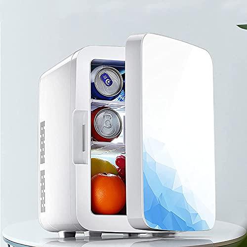 Duwen Mini refrigerador portátil, mini refrigerador, refrigerador de 10 litros para refrigeradores portátiles Termoeléctricos portátiles y calentadores Skincare Fridge Fridge...