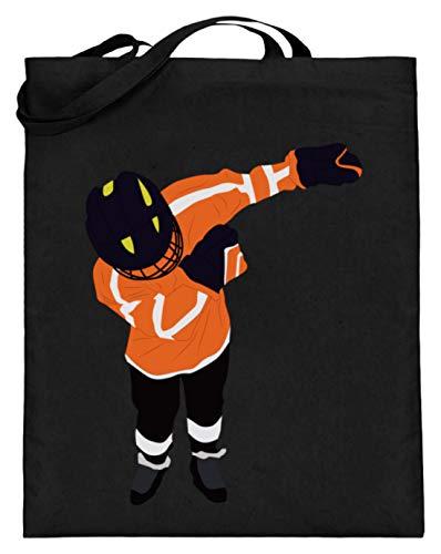 Chorchester Für Alle Hockey Und Sport Fans - Jutebeutel (mit langen Henkeln) -38cm-42cm-Schwarz
