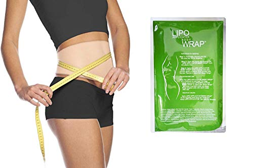 Ultimate Body Applicator Lipo Wrap Skinny Wraps for inch Loss Tone and Contouring it Works for Cellulite Stretch Marks Reduction. (4 Wraps)