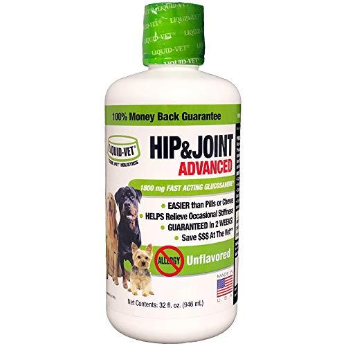 Liquid-Vet K9 Hip & Joint Advanced Formula, Unflavored, 32 oz