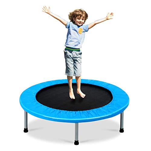 Giantex Mini Fitness Trampoline for Adults and Kids, 38 Inch Rebounder...