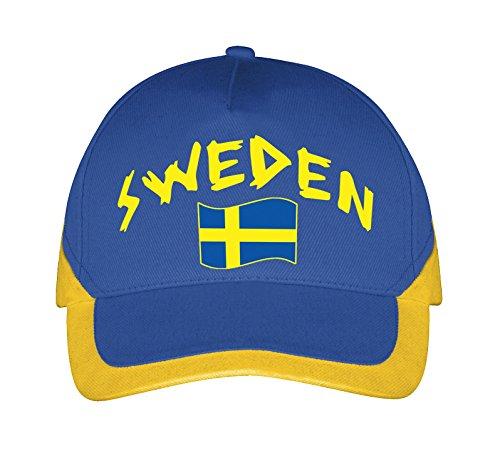 Supportershop Schweden Baseballmütze, Blau, Einheitsgröße