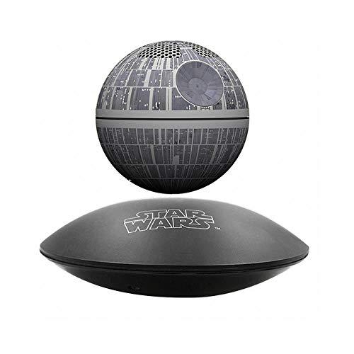 Bluetooth wireless stereo rotating 360 degree Maglev Bluetooth speakers Star Wars STARWARS death star maglev speaker USB MP3, A