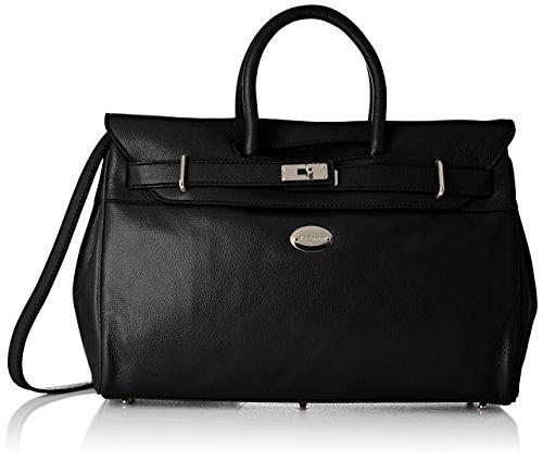 MAC DOUGLAS Pyla Buni S Sac porte main Femme Noir (Noir) , Noir (Noir) ,, 17.5x26x40.5 cm (W x H x L)