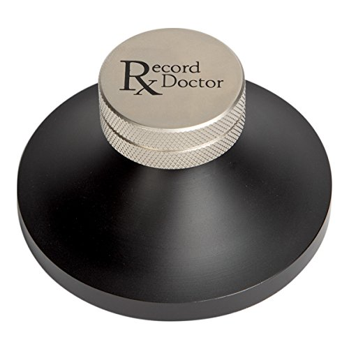 Record Doctor Record Clamp (Black)