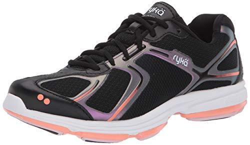 Ryka Women's Devotion Sneaker, Black, 5.5 M US