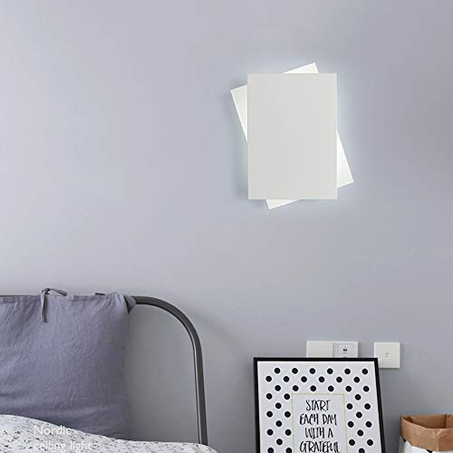 De enige goede kwaliteit Decoratie Goud/Wit Nordic Eenvoudige Wandlamp Moderne Aisle Corridor Mode Creatieve Vierkante Lamp Decoratie Persoonlijkheid 17 * 20,5 (CM)