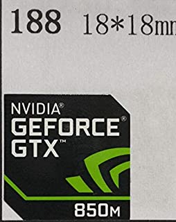 ■【NVIDIA GEFORCE GTX 850M】エンブレムシール 18*18mm