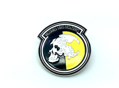Militaires Sans Frontier Metal Gear Solid Cosplay Metal Pin Badge