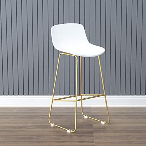 Barkruk Retro Casual Nordic Cafe Moderne te koop kruk bar stoel voor keuken ontbijt ijzer kunst eenvoudige kruk met metalen poten PU leder kussen voetensteun barkruk stijl barkruk voor bar rest