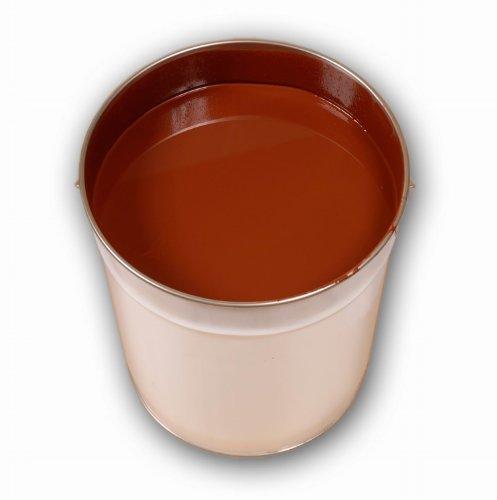 20 Liter Braun PU Bodenfarbe Betonfarbe Werkstattfarbe Ziegelfarbe