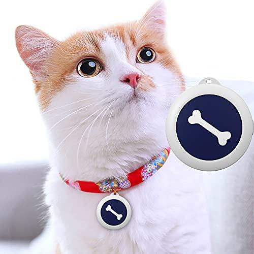 IYUNDUN Purificatore d'Aria Portatile di Anioni di Ossigeno, Mini Filtro USB Indossabile per L'aria del Collo Indossabile per Animali Domestici (Osso Bianco)