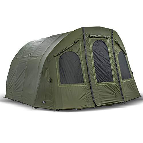 Lucx® Winterskin Überwurf Overwrap für Lucx Bigfoot Bivvy Angelzelt Karpfenzelt Carp Dome (Kein Zelt Nur Überwurf)