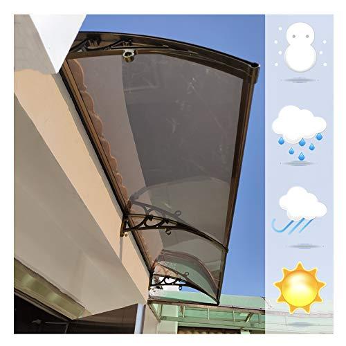 Marquesina Toldo, Parasol Cubierta Filtrante Luz, Color Champán Soporte Aluminio Antióxido No Se Deforma Fácilmente, Ofrece Variedad Opciones Tamaño PENGFEI (Color : A, Size : 60cmX200cm)