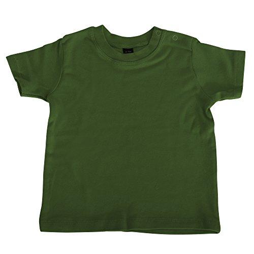 Babybugz - T-shirt à manches courtes - Bébé unisexe (18-24 mois) (Rose bonbon)