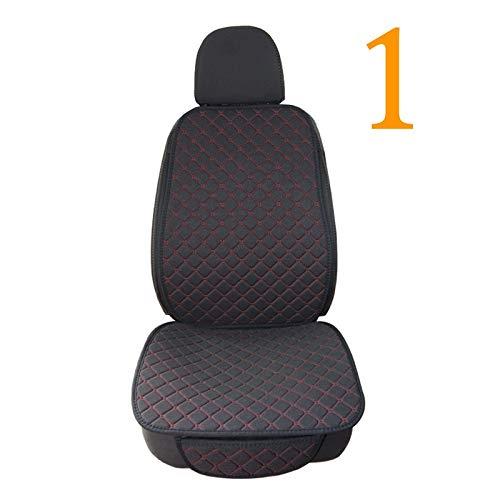 Funda Asiento Coche Asiento de lino de lino del coche protector de la cubierta delantera asiento trasero del cojín del amortiguador delantero Mat Auto Automoción de diseño interior del camión o camion