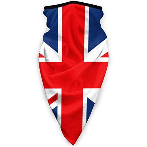 Tzshak UK-Union-Flag Foulard Coupe-Vent Masque Facial Masque Anti-poussière Lavable Balaclava Bandana