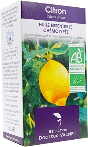 Dr Valnet - Essence de Citron Bio (10 ml)