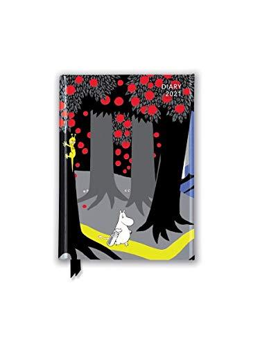 Tove Jansson – Moomin - Moomin Characters 2021: Original Flame Tree Publishing-Pocket Diary [Taschenkalender]