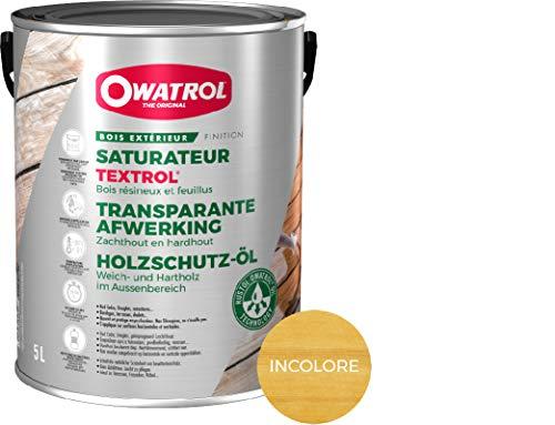 Owatrol Textrol Outdoor Holzlasur für Weiche 5L farblos