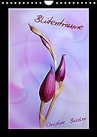 Bluetentraeume (Wandkalender 2022 DIN A4 hoch): Blueten in den Farben rosa bis lila (Monatskalender, 14 Seiten )