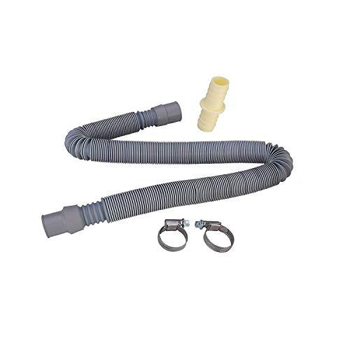 Find A Spare Ablaufschlauch-Verlängerungsset für Waschmaschinen und Geschirrspüler, 70-200 cm