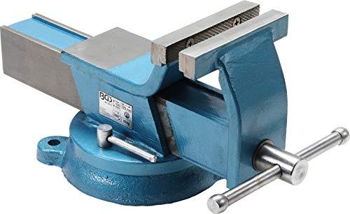 BGS 59112 | Stahl-Schraubstock | geschmiedet | 125 mm Backen