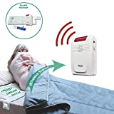 Smart Caregiver Wireless Bed Alarm System - Cordless Weight Sensing Bed Alarm...