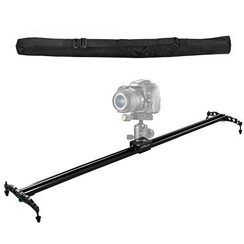 IMORDEN 40'/100cm Camera Slider Ball-bearing Typed Track for DSLR and Video Camera, Smartphone and Gopro with Environmental Carrying Bag(Max Load: 7kg/15lbs)for Youtuber and Film Maker, Use on Tripods