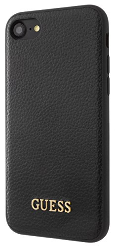 Guess GUHCP7IGLBK Iridescent Collection Hart Schutzhülle für Apple iPhone 8 7 6 6s schwarz