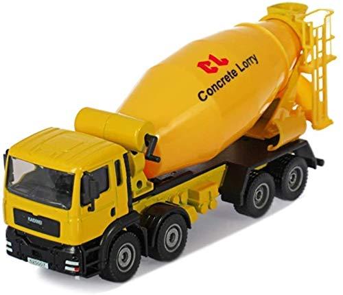 Toy model Kits de modelo de coche de juguete, modelo de vehículo de construcción 1:50 aleación mezclador camión cisterna de cemento caracol modelo de coche Chil