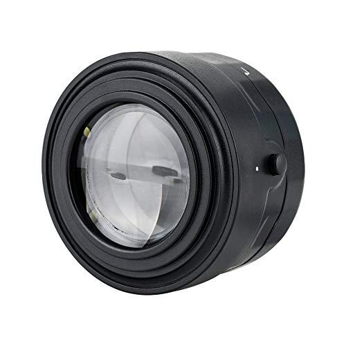 JJC Universale Lente di Ingrandimento con 7x e 6 LED Ultra-luminosi per Fotocamere DSLR Mirrorless
