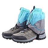 TRIWONDER Gaiters Low Gators Lightweight Waterproof Ankle Gaiters for Hiking Walking Backpacking (Black & Gray)