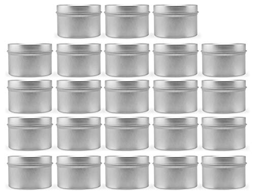 2oz Metal Tins/Candle Tins (24-Pack)