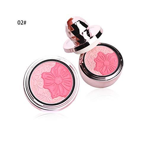 Mode-Make-up-Luftpolster Rouge-Palette für das Erröten der Haut Wange Schmale Puder-Kosmetik...